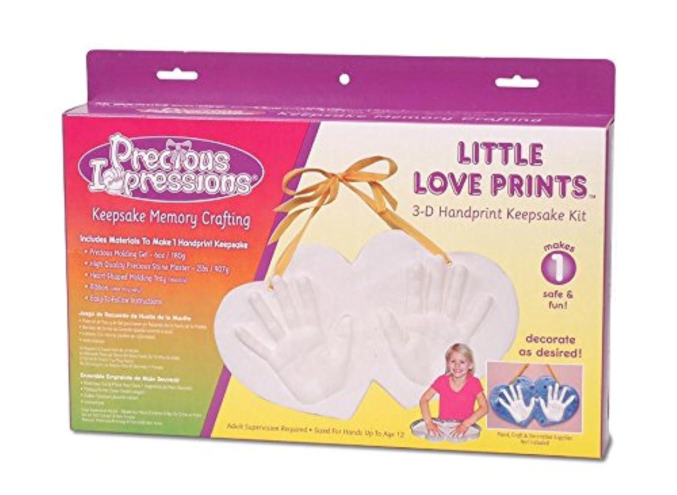 Darice Precious Impressions - Little Loves Handprint 3-D Kit