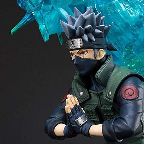 HYYSH Naruto Shippuden Kakashi überGröße Modell Statue Puppe Anime Dekoration Ornament 43 cm
