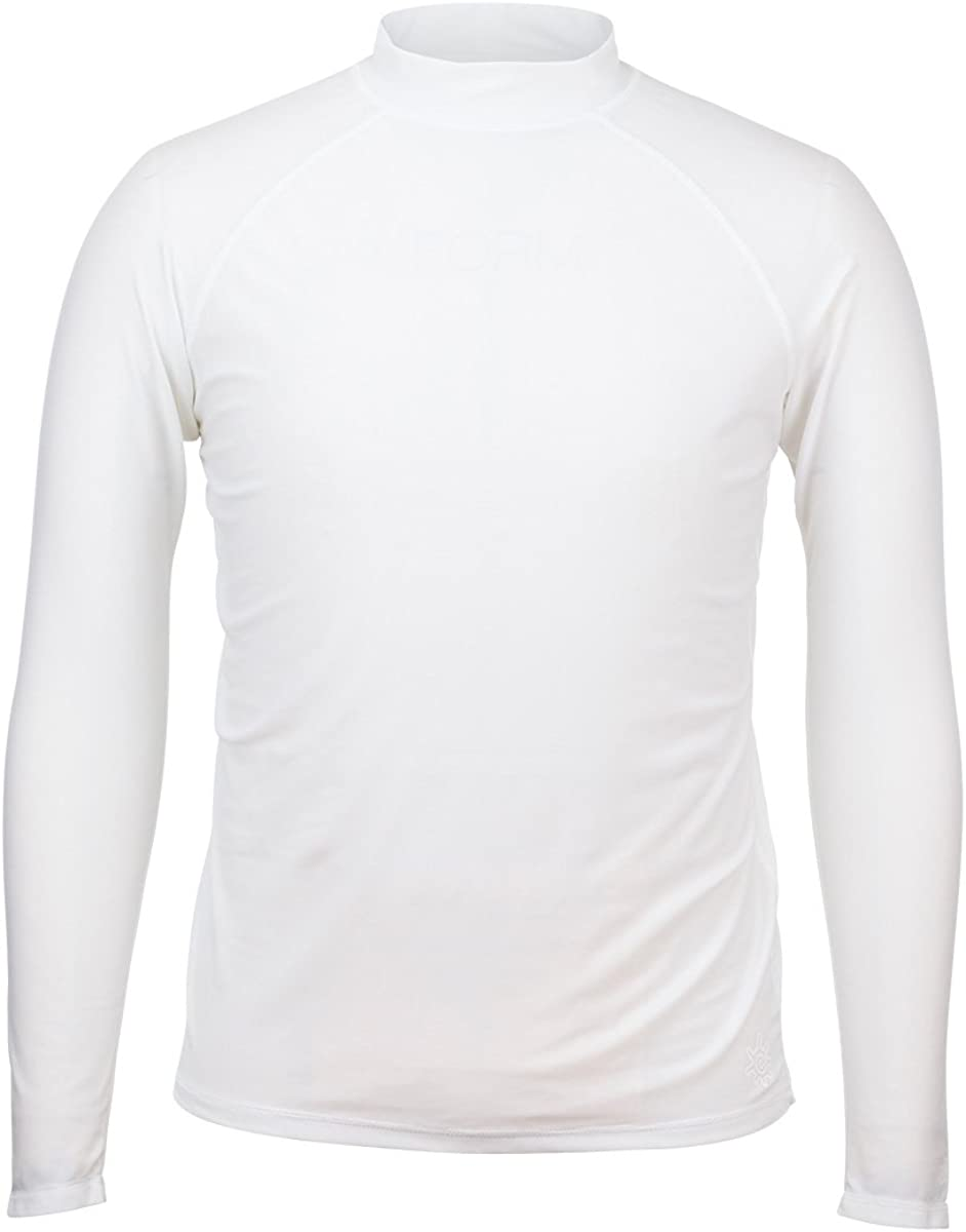 UV Skinz Men's Long Sleeve Sun & Swim Shirt with UPF 50+ – Salt Water Resistant