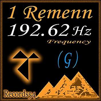 192,62 Hz G 1 Remen Frequency
