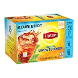 Lipton Iced Tea K-Cups for Keurig Brewers Unsweetened Sugar Free 12 pods 6 count