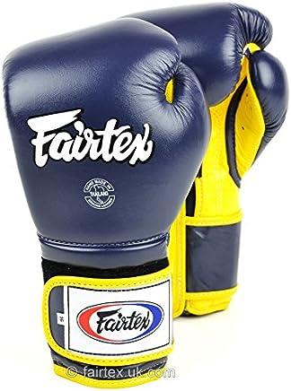 Fairtex Blau-Gelb Mexiko Stil muay-thai Boxhandschuhe – BGV9 B078D732GG     | Vollständige Spezifikation