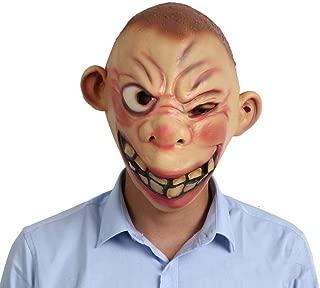 Mezzo viso Animale Leone Divertente Costume Maschera Di Lattice Per Bambini /& Adulti Halloween