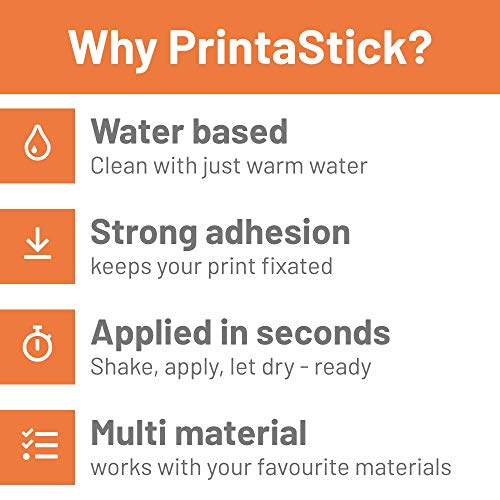 PrintaStick 1,7oz | 3D Printing Adhesive for PLA, PET-G and More | Easy to Apply and Remove