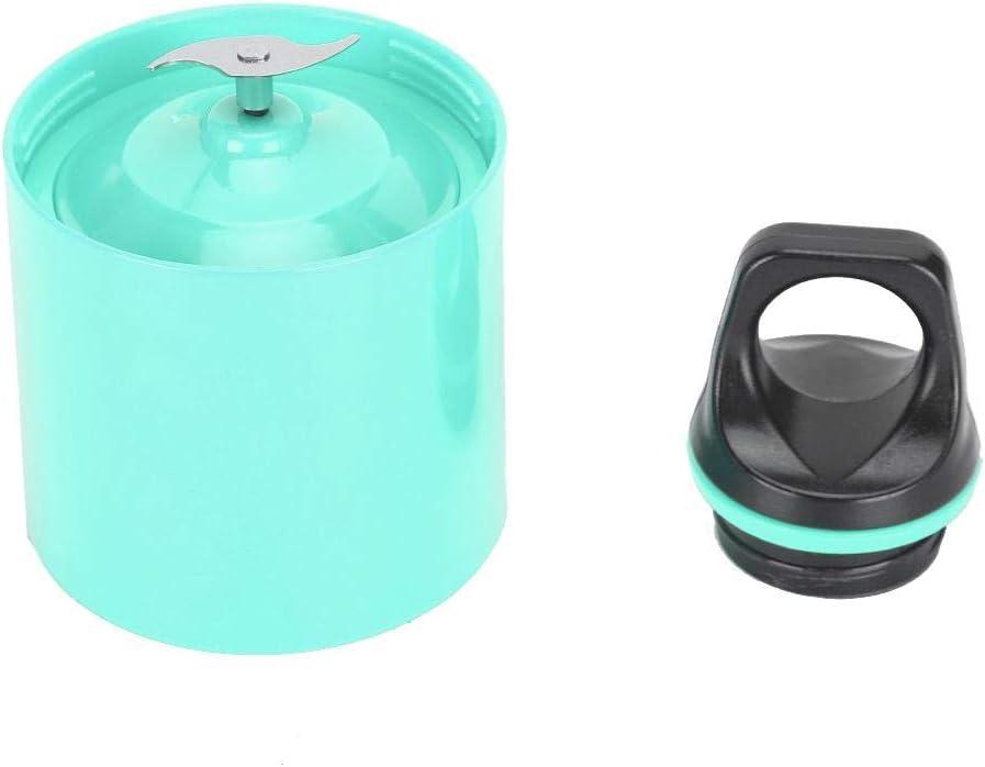 Taza exprimidora USB, PC eléctrica de grado alimenticio, exprimidor de frutas recargable USB, taza eléctrica para exprimir, 500 ML para viajes y deportes(red, 500ML) Blue, 500ml