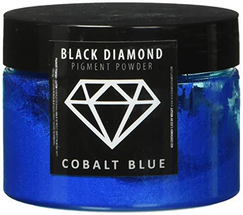 (51g/1.8oz)'Cobalt Diamond Blue' Black Diamond Pigments Multipurpose DIY Arts and Crafts Additive | Natural Bath Bombs, Resin Art, Paint, Epoxy, Soap, Nail Polish