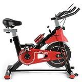 Fitnessclub Heimtrainer Fahrrad Spinning Bikes mit 12KG Schwungrad, Indoor Cycling...