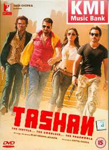 Tashan (Comedy Hindi Film / Bollywood Movie / Indian Cinema DVD)