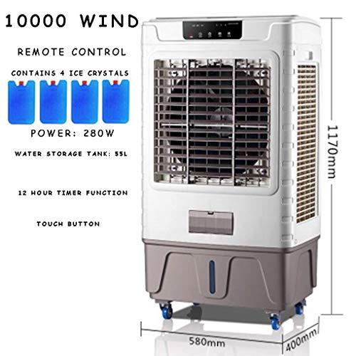 Air cooler Luchtkoeler airconditioner ventilator mobile cooler watergekoelde airconditioner industriële elektrische ventilator huishoudapparaat koelventilator (Size : 10000 air volume)