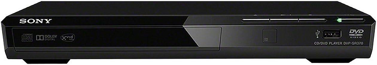 Sony DVP-SR370 B Lecteur DVD (Xvid-Widergabe, USB) Noir