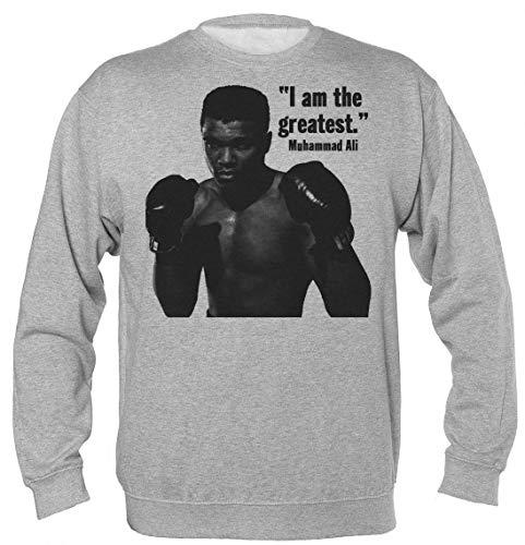 Finest Prints I Am The Greatest Unisex Sweatshirt Large