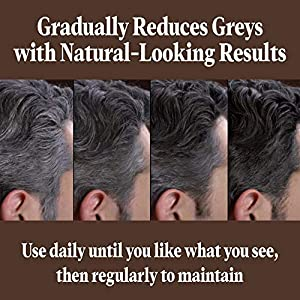 Just For Men Control GXGrey ReducingShampoo, Gradually Colors Hair, 4 Ounce