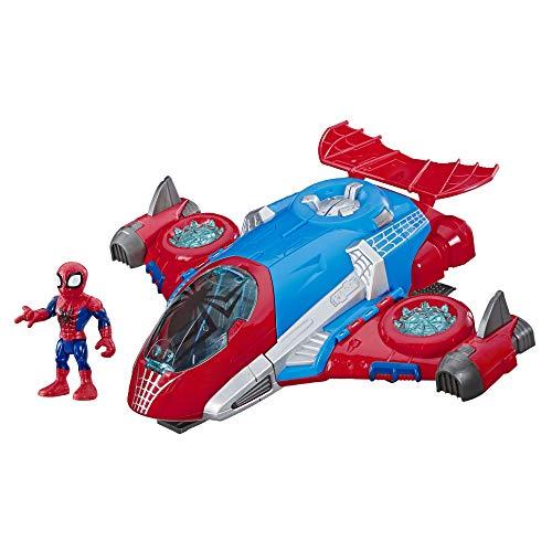 Super Hero Adventures - Spider Man Jetquarters (Hasbro E4840EU4)