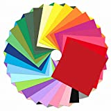 Outuxed 3000pcs 4inch Tissue Paper Squares, 30 Assorted Colors for Arts Craft DIY Scrapbooking Scrunch Art