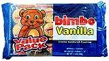 Bimbo Cookies Vanilla Creme Sandwich Flavor 2 Trays of 10 Pack of 6 Cookies Each