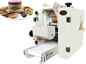 Hanchen Automatic Dumpling Wrapper Machine Dumpling Skin Maker Commercial Wonton Steamed Bun Gyoza Potsticker Spring Roll Wraps Maker 70-80pcs/min