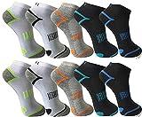 Pesail 10 Paar tolle Herren Sneaker Socken in den Größen 39-46 (43-46)