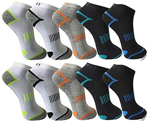 Pesail 10 Paar tolle Herren Sneaker Socken in den Größen 39-46 (39-42)