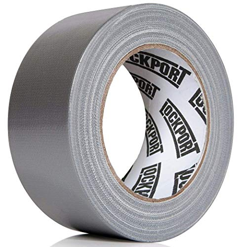 Heavy Duty Silver Duct Tape - 5 Roll Multi Pack Industrial Lot – 30 Yards x 2 inch Wide – Large Bulk Value Pack of Grey…