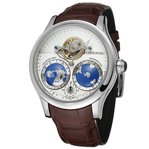 FORSINING Men's Brand Automatic Stainless Steel Case Analog Bracelet Watch FSG9413M3S2
