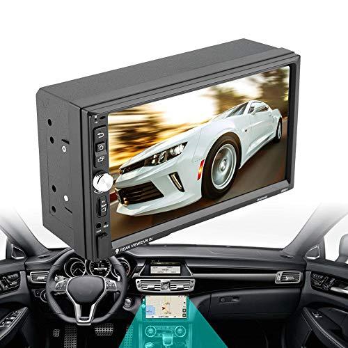 Estink 7 inch 2Din auto multimedia MP5-speler, Quad-Core-High-Definition beeldscherm Car Audio Stereo, voor 7.1 navigator, handsfree bellen