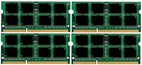 Micron 3rd 32GB Kit (4 x 8 GB) 204 pin DDR3-1866 SO-DIMM (1866Mhz, PC3-14900) passend für Apple iMac Retina 27
