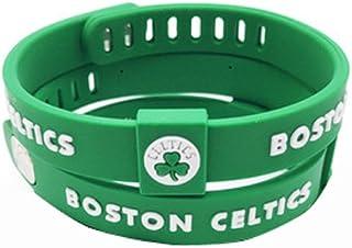 ENJOY 11 NBA Basketball Team Adjustable Silicone Bracelets Wristbands, a set of two