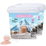 Nortembio Rosa Himalaya-Salz 2x6,7 Kg. Extra Feinkorn (0,5-1 mm). 100% Natürlich. Unraffiniert. Ohne Konservierungsstoffe. Von Hand extrahiert. Aus Punjab Pakistan. Premium-Qualität.