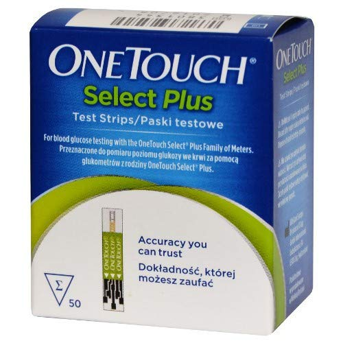 One Touch - Select Plus, 50 strisce reattive