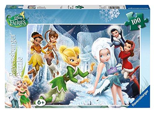 Ravensburger - Puzzle con diseño de Winter Fairies, 100 Piezas (10722 3)