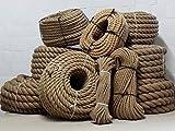 Yute cuerda 100% Natural 30m/ø5mm 10mm 15mm...