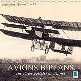 Avions biplans sur cartes postales anciennes 2020: Nostalgie des pilotes de voltige aerienne : les biplans