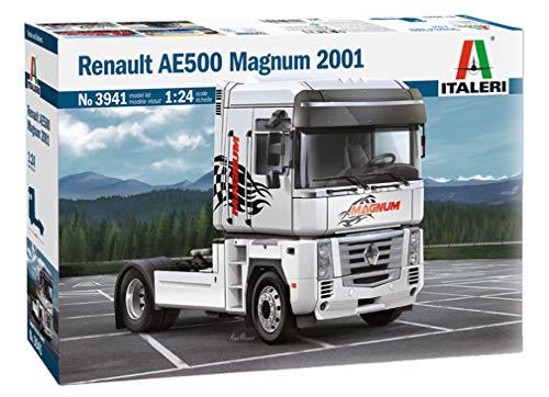 ITALERI 3941S - 1:24 Renault AE500 Magnum (2001) , Modellbau, Bausatz, Standmodellbau, Basteln, Hobby, Kleben, Plastikbausatz, detailgetreu
