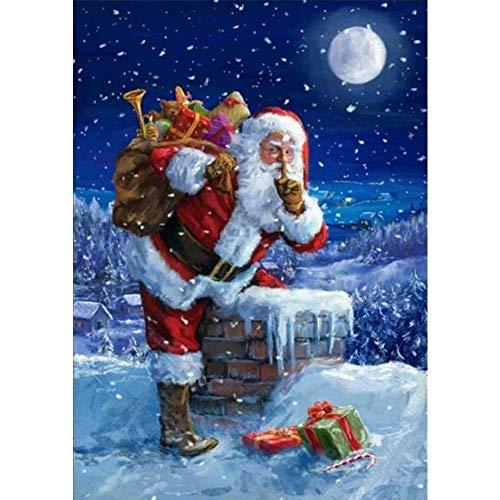 lpf Diamantbohrlöcher voller Möbel Malerei, Heimtextilien Handel DIY Kamin Weihnachtsmann Geschenk