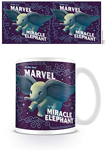 Dumbo Movie MG25440 - Taza de cerámica (315 ml), diseño de Dumbo