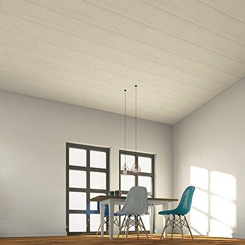 Avanti Exclusive Wandpaneel und Deckenpaneel Weiße Eiche 1300 x 250 x 10 mm - NEU!