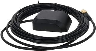 Othmro GPS Antena activa SMA macho enchufe aéreo conector cable magnético montaje 3 metros 1 unids