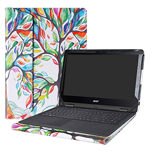 Alapmk Protective Case Cover for 11.6' Acer Spin 1 11 SP111-32N Series Laptop(Warning:Not fit Spin 1 SP111-31 SP111-31N SP113-31 Series),Love Tree