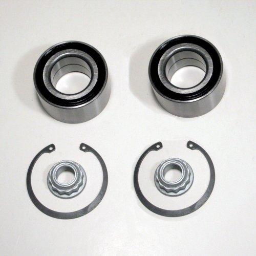 2 x Radlager/Radlagersatz für Scheibenbremsen hinten