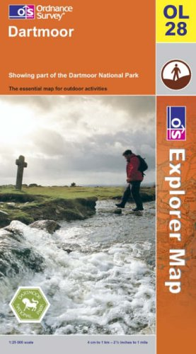 OS Explorer map OL28 : Dartmoor