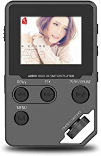Original HiFi MP3 Player, MP3 Music Player HD Screen Portable MP 3 Player Support Video Playing E-Book Voice Recorder TF Card