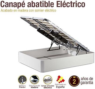 Naturconfort Canapé de Madera eléctrico 150x190cm