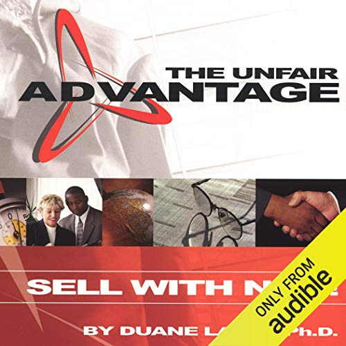 The Unfair Advantage audiobook cover art