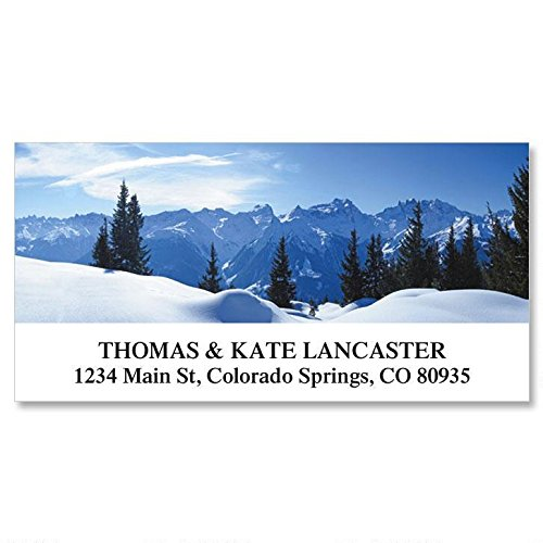 Nature's Art Self-Adhesive, Flat-Sheet Deluxe Address Labels (12 Designs)