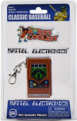 World s Coolest Mattel Electronic Games Baseball Handheld Games product image