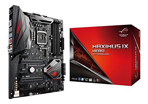 Asus ROG Maximus IX Hero Gaming Mainboard Sockel 1151 ATX Intel Z270 Kabylake 4x DDR4 Speicher USB 30 M2 Schnittstelle