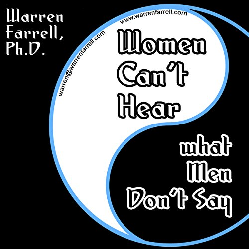 Women Can't Hear What Men Don't Say audiobook cover art