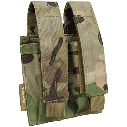 Viper TACTICAL Double Pistol Mag Pouch V Cam