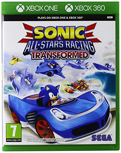Xbox1 - Sonic & Sega All-Stars Racing Transformed (Xbox 360)
