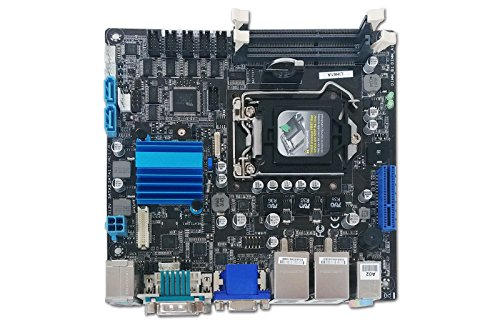The Best AAEON EMB-H61A MINI-ITX EMBEDDED MOTHERBOARD,INTEL SOCKET 1155, SODIMM,FAN,VGA/D